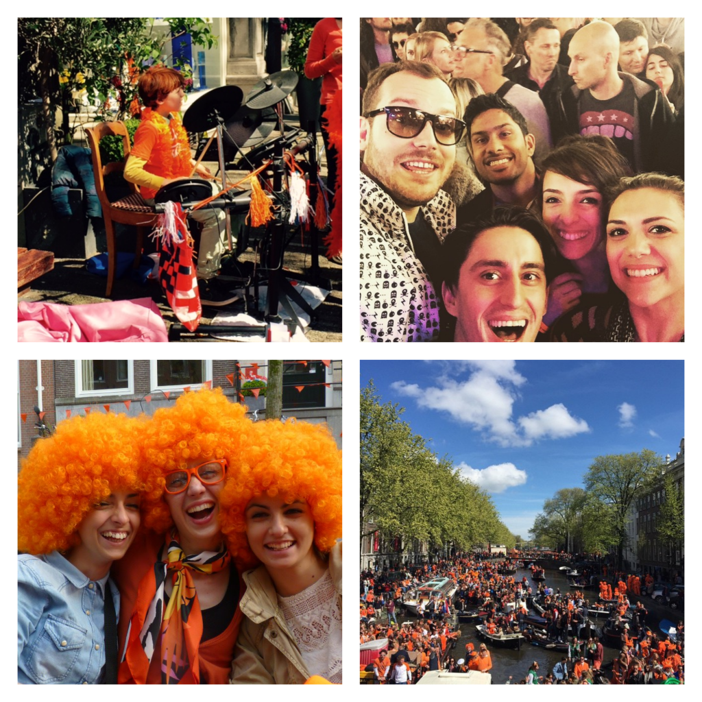 Do-not-miss street party – Amsterdam on King's Day