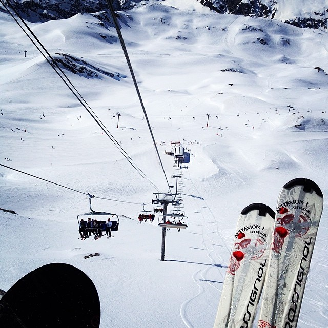 Skiing Tignes Le Lac France